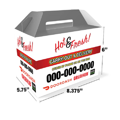 Carry out Box with Handle