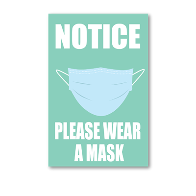 Please Wear a Mask - Wall Graphic