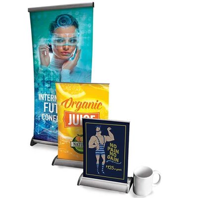 Retractable Tabletop Display