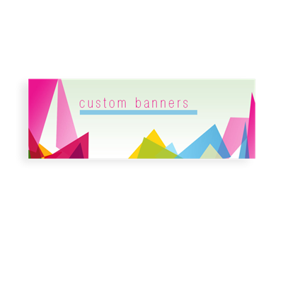 24Hr Custom Size Banner